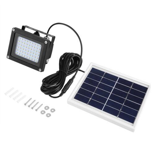 Solar Powered 60 LED Dusk to Dawn Sensor Waterproof Outdoor Security Flood USA