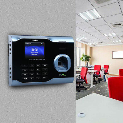 U160 Lcd Biometric Fingerprint Scanner Employee Attendance For Office School