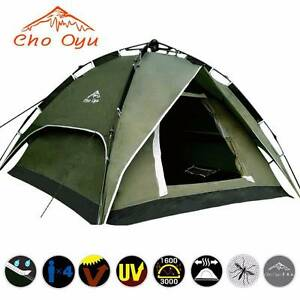 NEW ! Cho Oyu 3-4 Person Autotent (Green) Lidcombe Auburn Area Preview