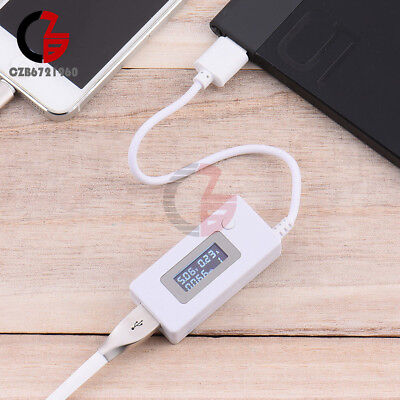LCD USB Charger Doctor Tester Battery Capacity Voltage Current Meter Detector