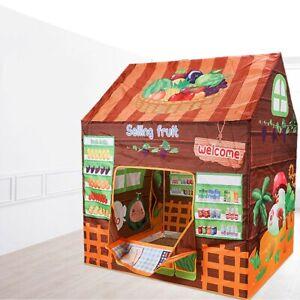 0aa840aa346f Children Kid Castle Pop-Up Play Tent Boy Cake Bake Playhouse Outdoor Indoor  UK