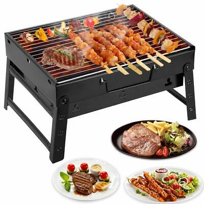 Barbecue Charcoal Grill Folding Portable Lightweight Outdoor Camping BBQ Tools