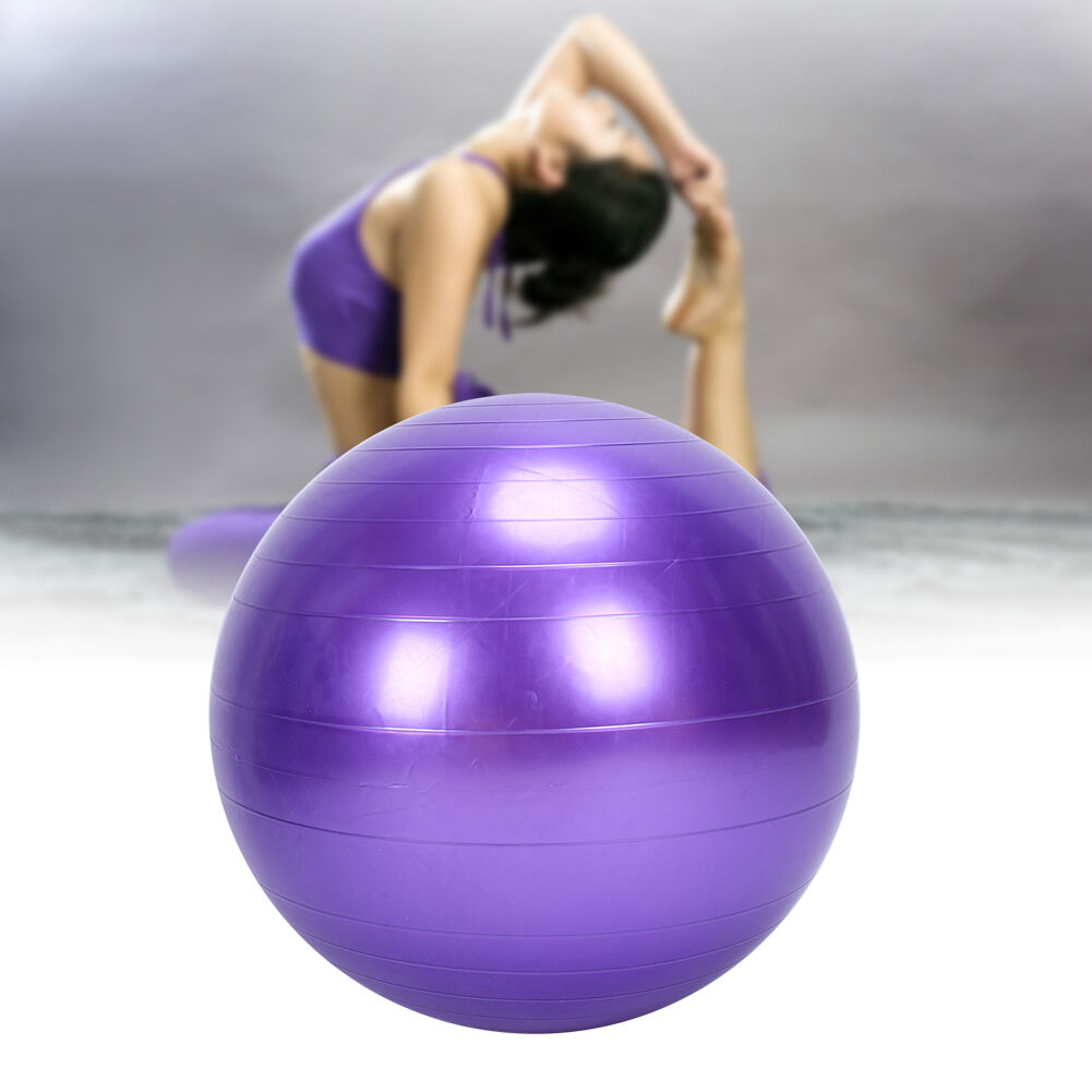 Exercise Ball 75cm Anti Burst: 75CM EXERCISE GYM YOGA SWISS BALL FITNESS PREGNANCY