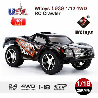 WLTOYS L939 1/12 2.4G 4WD ELECTRIC BRUSHED CRAWLER RTR RC CAR BEST GIFT US