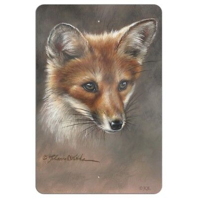 Red Fox Kit Portrait Home Business Office Sign Home Business Kit