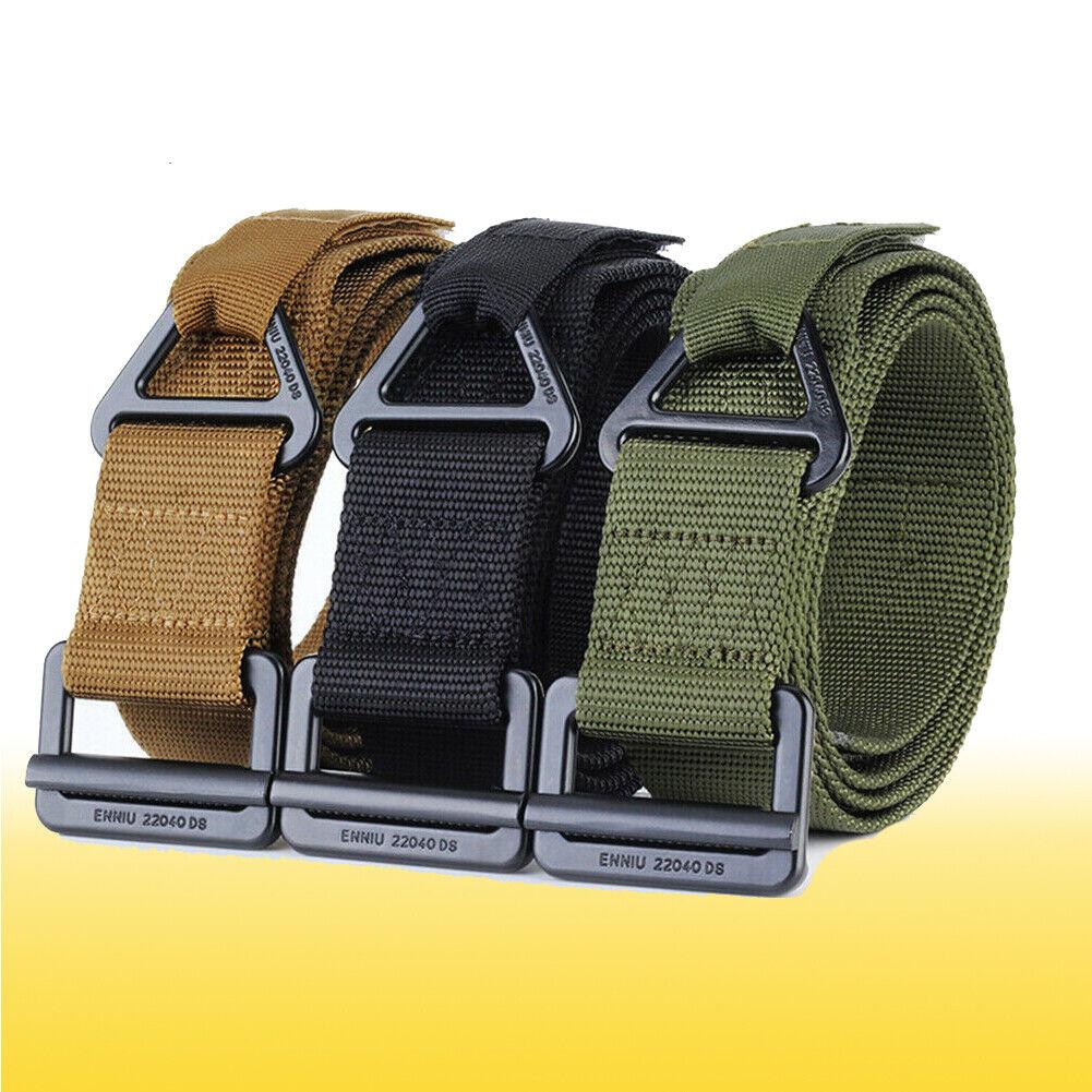 Adjustable Nylon Waistband Combat Rescue Combat Rigger Military Tactical Belt Belts