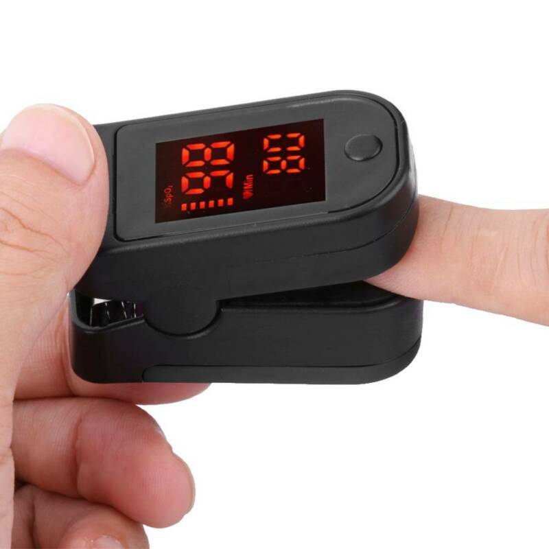 Fingertip Finger Pulse Oximeter SpO2 Blood Oxygen Monitor 1