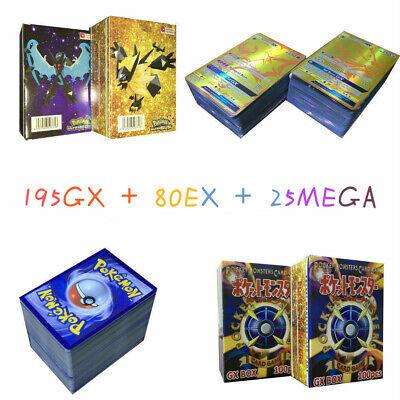 195 GX + 25 MEGA + 80 EX Pokemon Cards English Edition Booster Box Break Point
