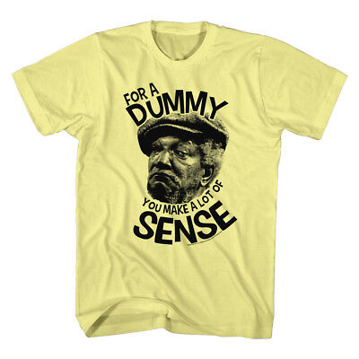 Sanford And Son T Shirt Redd Foxx You Smart Yellow Heather In Sizes Sm   2Xl