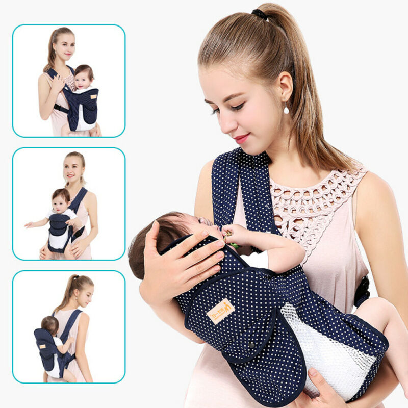Baby Carrier Toddler Infant Newborn Holder Front Facing Chest Carrier Soft US