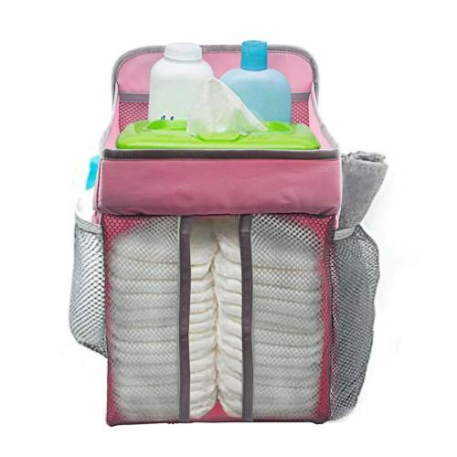 COCODE Hanging Diaper Caddy And Nursery Organize For Baby Crib, Playard, Changin