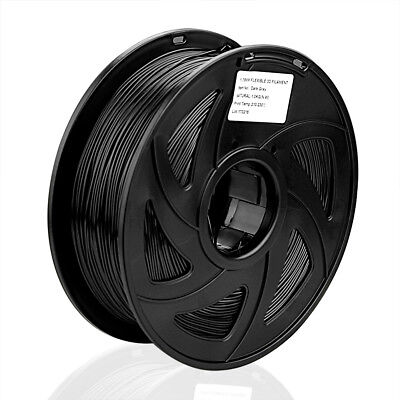 3D Drucker Flexible /TPU PLA 1.75mm/1KG Printer Filament - Spule Trommel Patrone