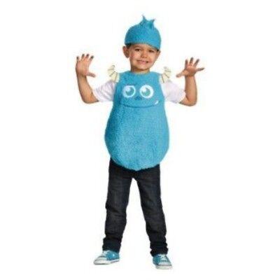 Monsters University Toddler Boys Plush Blue Faux Fur Sulley Costume & Hat