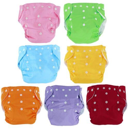 5 x Windeln Babywindeln Windelüberhosen Stoffwindeln Waschbar mit/ ohne Einlagen