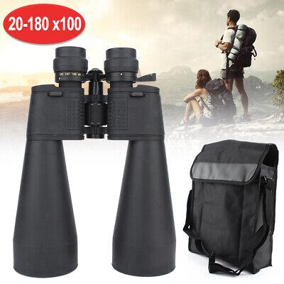 Sakura Binocular 70mm 20-180x100 Zoom Fernglas Nachtsicht Ferngläser mit Tasche