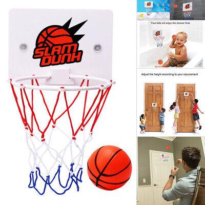 Kinder Mini Basketballkorb Saugen Wandständer Sport Spielzeug Set mit Pumpe Neu