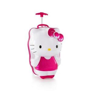 Heys Hello Kitty 3D Deluxe Hardshell Spinner Luggage 18 inch Case
