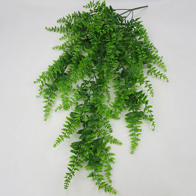 Artificial Hanging Plants Ivy Vine Indoor Outdoor Fake Garden Decor Faux Plastic ()