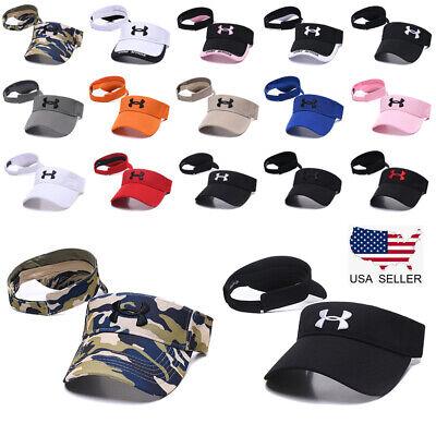 Under Armour Sun Visor Stretch Fit Golf Baseball Cap Embroidered Women Men Hat