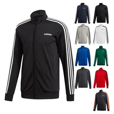 New Adidas ESSENTIALS 3-STRIPES or TRICOT TRACK JACKET Mens Sizes + Colors+