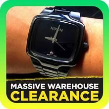 Nixon Mens Player Automatic Black Dial Ceramic Watch RRP $2299 Tullamarine Hume Area Preview