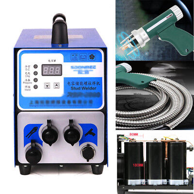 Capacitor Discharge Stud Bolt Plate Welder For Welding Bolt Plate Insulationnail