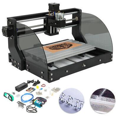 Mini Diy 3 Axis Cnc Router Kit 3018 Laser Engraver Carver Machine Grbl Control