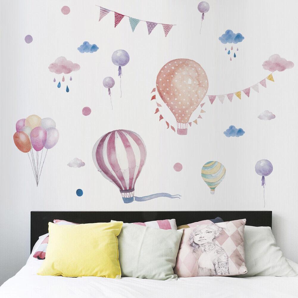 "Home Decoration - Kids/Nursery Room Decor Removable Wall Sticker Home Decor  ""Hot Air Balloon"""