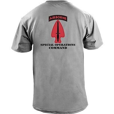 Army Special Operations Command Full Color Veteran T-Shirt