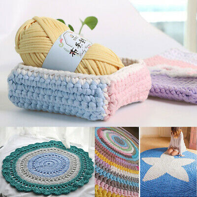 Soft Clothes T-Shirt Yarn Elastic Knitting Fabric for Bags Cushion DIY Mgic Crafts