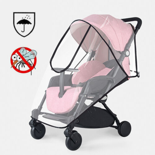 Premium Stroller Cover Tough Shield Protects Against Wind, Rain, Snow, Insects