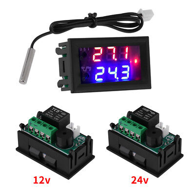 Microcomputer Thermostat Switch Temperature Controller Dc 1224v Digital Led Im