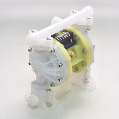 Hq Double Diaphragm Air Poly Pump Chemical Industrial 12 Or 34 Npt