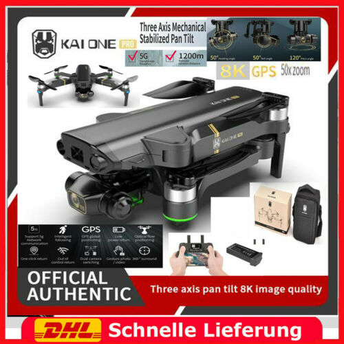 Brushless 3-Axis Gimbal 8K HD Kamera RC Drohne 5G Wifi GPS RC Quadcopter Drone