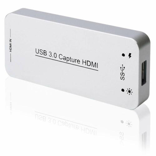USB 3.0 HDMI Game Capture Card Full HD 1080p 60FPS Video To