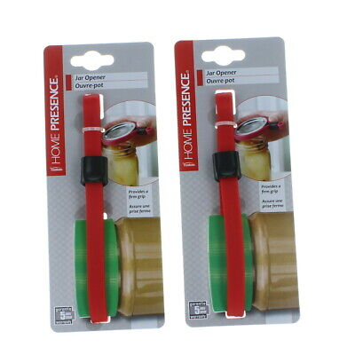 Set of 2 Trudeau Rubber Adjustable Jar Opener Home Presence