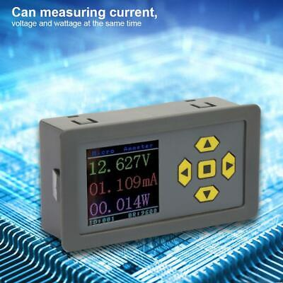 Microampere Dc Digital Display High Accuracy Current Voltage Wattage Meter 30v