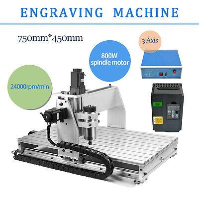 Router Engraving 6040 CNC 3 Achse Graviermaschine Graviergerät  Fräsmaschine