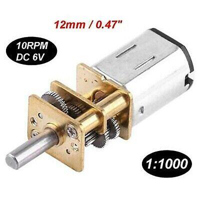 1pcs Dc 6v Micro Mini Gear Motor Gear Ratio 11000 High Torque 10rpm Low-noise