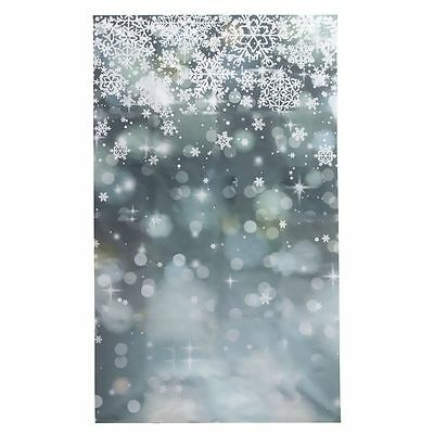 3 x5FT Snowflake Photography Vinyl Backdrop Photo Background studio prop F6W1