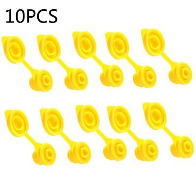 10pcs Yellow Replacement Gas Can Fuel Jug Vent Cap Plug Eagle Chilton Spouts Hot