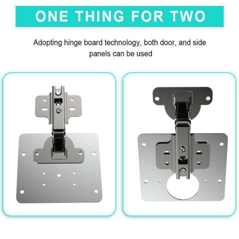 Colorfo Hinge Side Plate Repair Piece (1PLATE+4 SCREWS NET 2021 ) Hot Sale