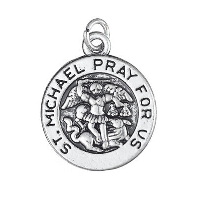 Michaels Jewelry Making (10Pcs ST. MICHAEL PRAY FOR US Christian Charms Religions Jewelry)