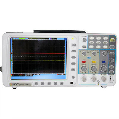 New Thin Owon 100mhz Oscilloscope Sds7102 1gs Large 8 Lcd Lanvgabag 3 Yrs Wa