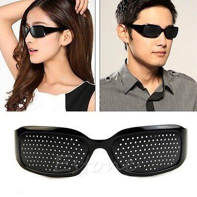 Glasses Vision Anti-fatigue Eyesight Care Improver Stenopeic Pin Pinhole Glasses