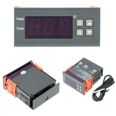 Digital Temperature Controller Thermostat Mh1210a Dc12v Led Sensor For Incubator