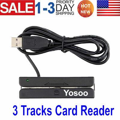 Credit Card Reader Machine Portable Mini Usb Magnetic Stripe Swiper Mag Msr90