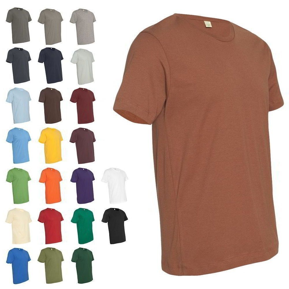 Next Level Premium Crew Men's Soft Short Sleeve Fitted T-Shi