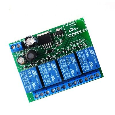 4 Channel Relay Module Bluetooth 4.0 4.1 Ble For Apple Android Phone Iot