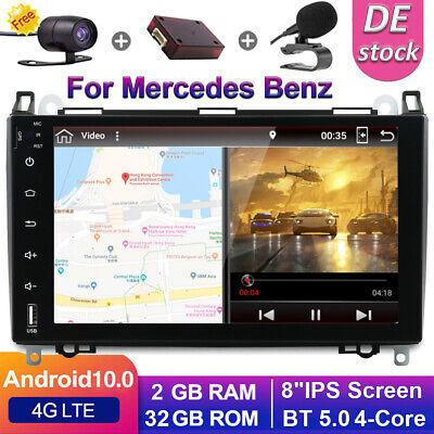 Autoradio Für Mercedes Benz W639/Vito/Viano/W906 Sprinter/W169/W245 Android10 BT